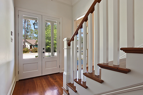 Custom Constructed Staircases - wooden or wrought iron