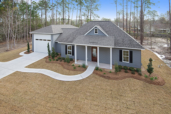 1-Lot 207 Singing Rivers Front Exterior