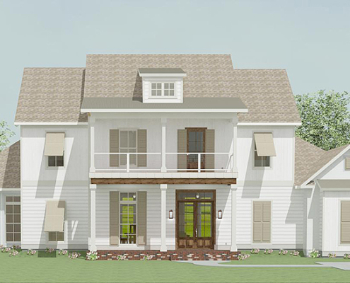 This New Home for Sale is our 2020 Parade of Homes house at River Club in Covington, Louisiana.